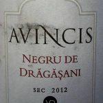 Negru de Drăgăşani 2012, Avincis, Vila Dobrusa, Drăgăşani, Rumunsko