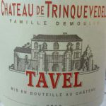 Tavel 2016, Chateau de Trinquevedel, Tavel, Južná Rhôna, Francúzsko
