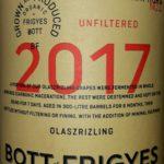 Rizling vlašský/Olaszrizling nefiltrované 2017, Frigyes Bott, Južnoslovenská vinohradnícka oblasť, Slovensko