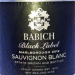Sauvignon Blanc 2019 Black Label, Babich, Marlborough, Nový Zéland