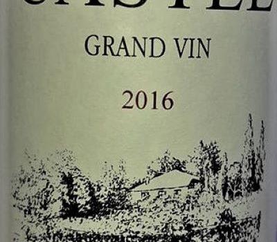 Domaine du Castel 2016 Grand Vin, Haute Judée, Izrael